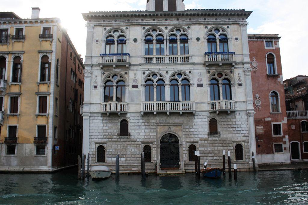 Wenecja. Canale Grande. Palazzo Corner Spinelli. Projekt Mauro Codussi. Realizacja od ok. 1480 r. Fot. Jerzy S. Majewski