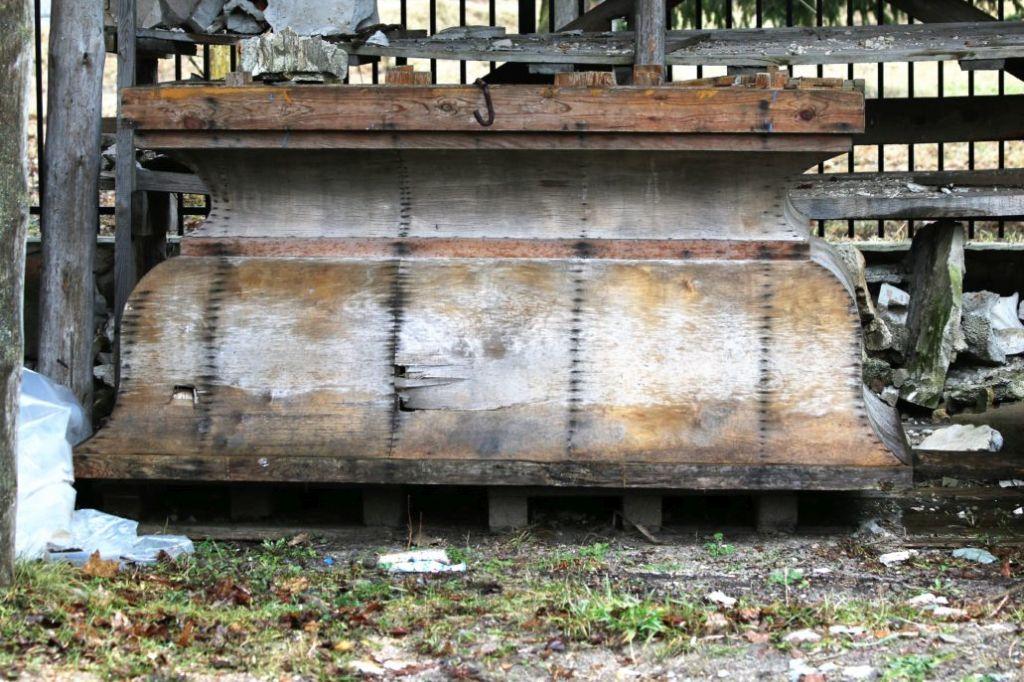 Wołczyn. Predella z usuniętego ołtarza w jednym z kościołów na Białorusi. Fot. Jerzy S. Majewski