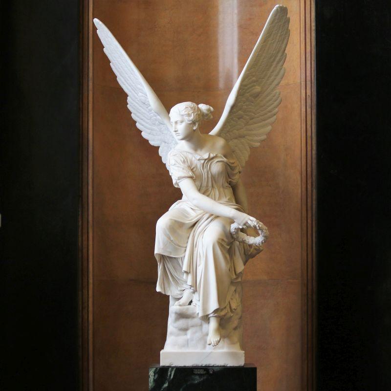 Berlin. Nationalgalerie. Chrystian Daniel Rauch. Wiktoria. 1838-45. Fot. Jerzy S. Majewski