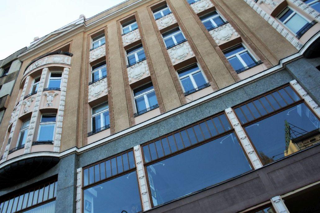 Łódź. Kamienica przy Piotrkowskiej 113. Projekt Romuald Miller. Fot. Jerzy S. Majewski