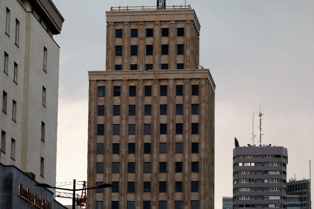 Prudential dziś w trakcie prac przy przebudowie budynku. Fot. Jerzy S. Majewski
