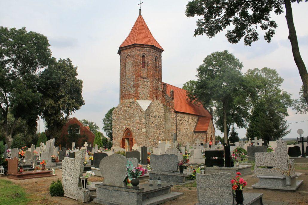 Brudzawy. Kościół św. Andrzeja Apostoła. XIV w. Fot. Jerzy S. Majewski