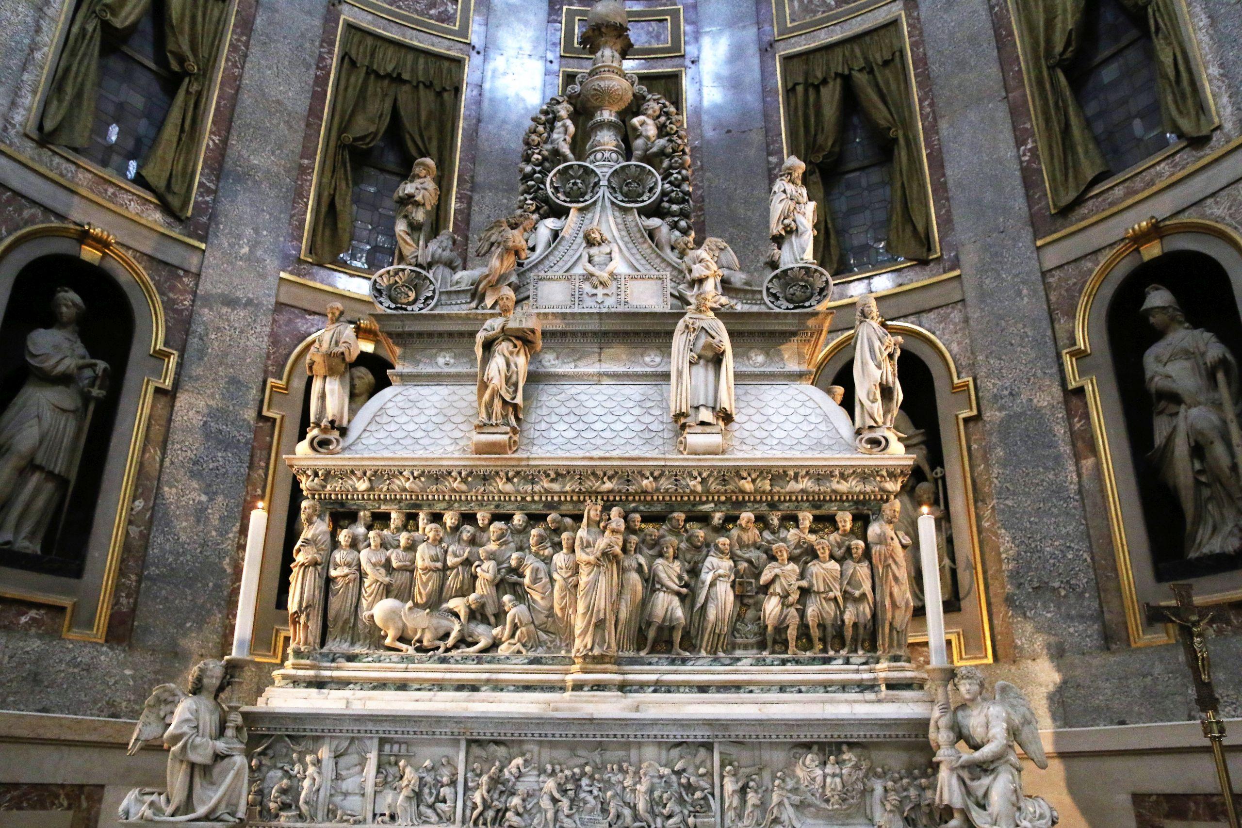 Bolonia. Grób św. Dominika