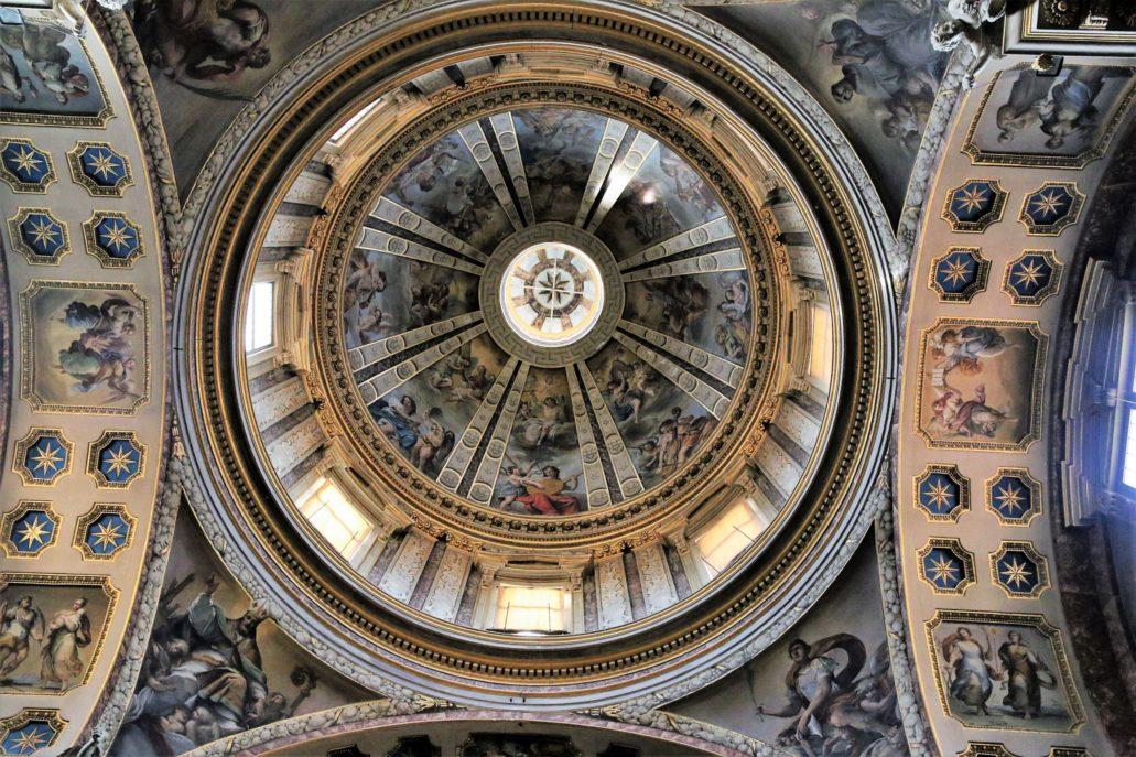 Bolonia. St. Domenico. Kopuła Kaplicy św. Dominika. Fot. Jerzy S. Majewski