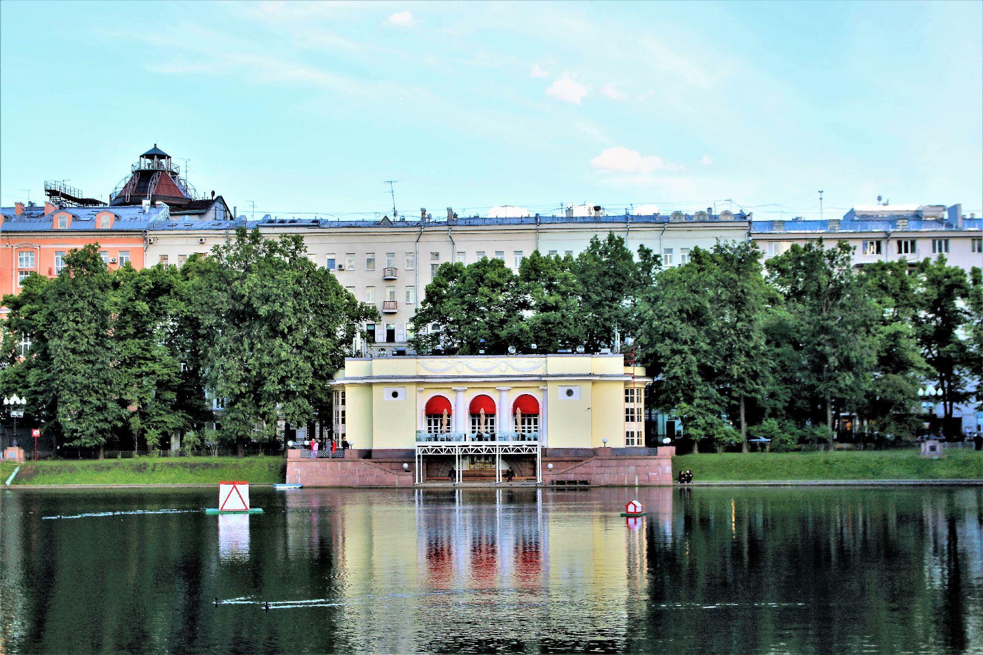 Moskwa. Patriarsze Prudy, tam gdzie Berlioz stracił głowę