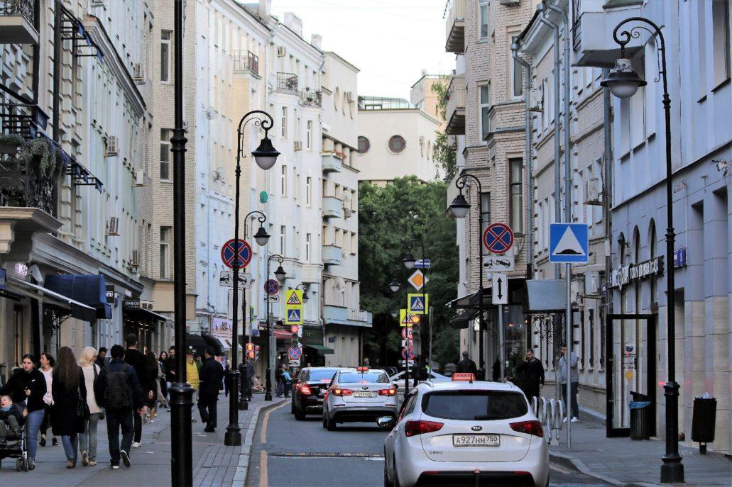 Moskwa. Ulica Mała Bronna. Fot. Jerzy S. Majewski