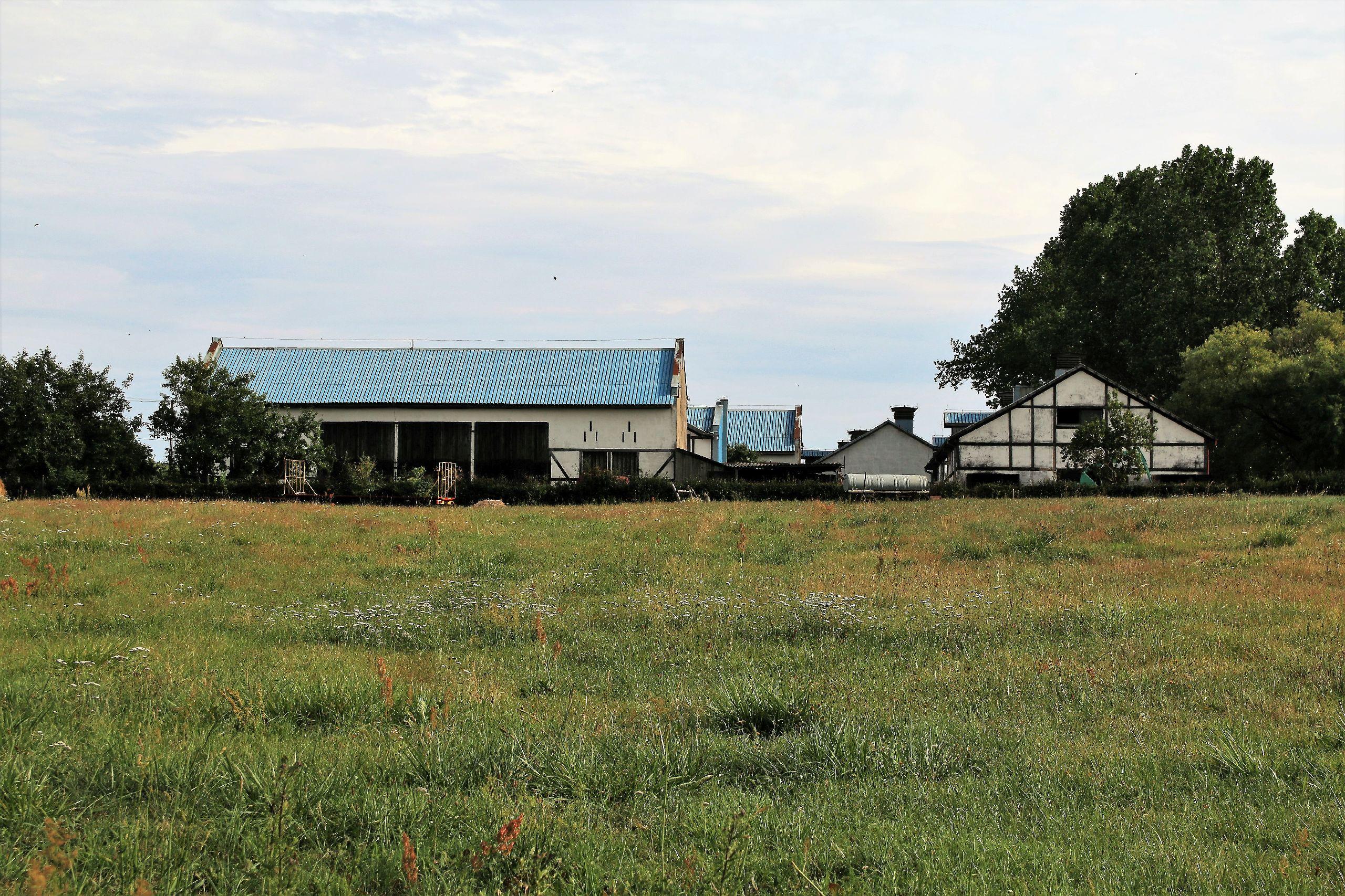 Domy wysiedlonych pod budowę elektrowni atomowej pod ŻarnowcemDomy wysiedlonych pod budowę elektrowni atomowej pod Żarnowcem