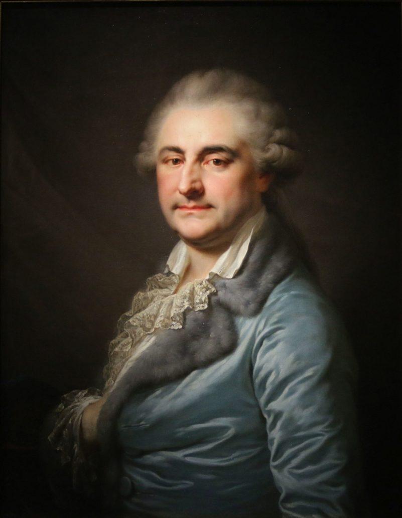Warszawa. Muzeum Narodowe. Giovanni Battista Lampi. Portret Stanisława Augusta Poniatowskiego z roku 1790. Fot. Jerzy S. Majewski