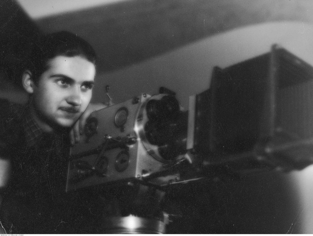 Operator filmowy Stanisław Lipiński. Drugi mąż Iny Benity. To z nim aktorka sprowadziła się w 1938 r. do kamienicy przy Konopczyńskiego. Fot. Narodowe Archiwum Cyfrowe