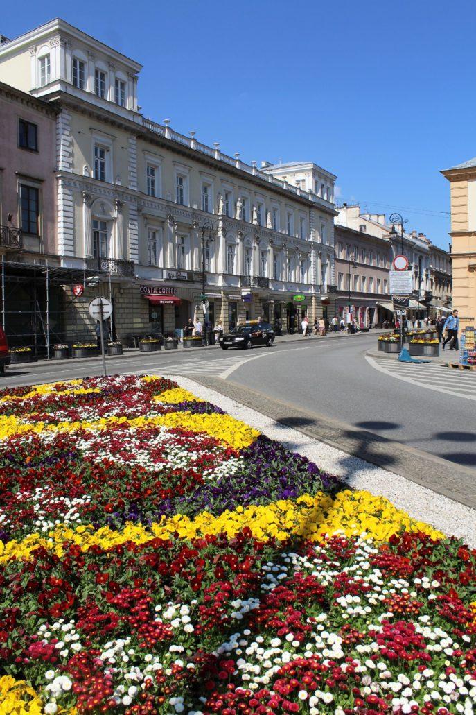 Współczesny widok Pałacu Kossakowskich. Fot. Jerzy Majewski