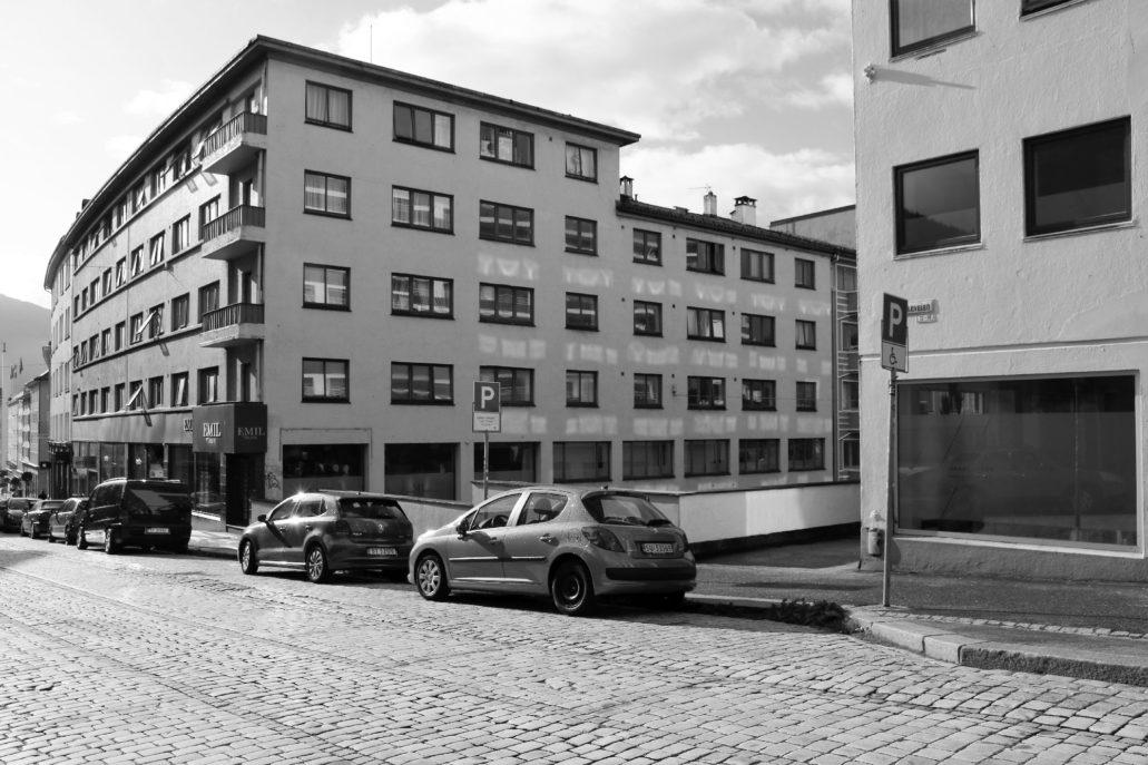 Bergen. Dom mieszkalny przy Markeveien. Fot. Jerzy S. Majewski.