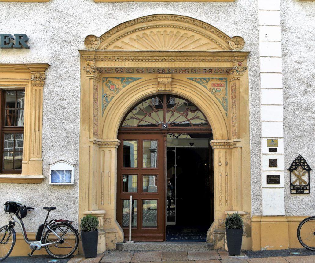 Görlitz. Peterstraße 8. Portal kamienicy z 1528 r. Fot. Jerzy S. Majewski