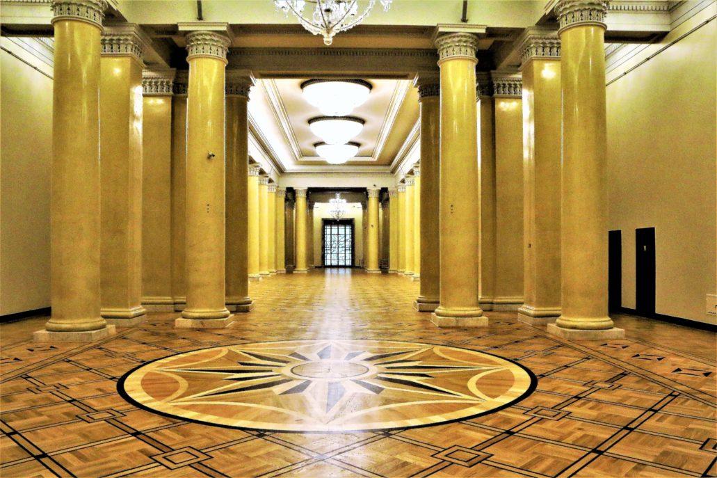 Warszawa. Pałac Kultury i Nauki. Sala Starzyńskiego. Jerzy S. Majewski
