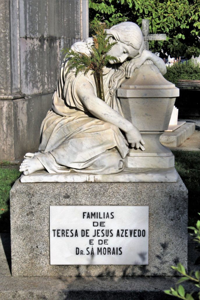 Porto. Cemitério de Agramonte. Grobowiec rodziny Teresy de Jesus Azevedo. Fot. Jerzy S. Majewski