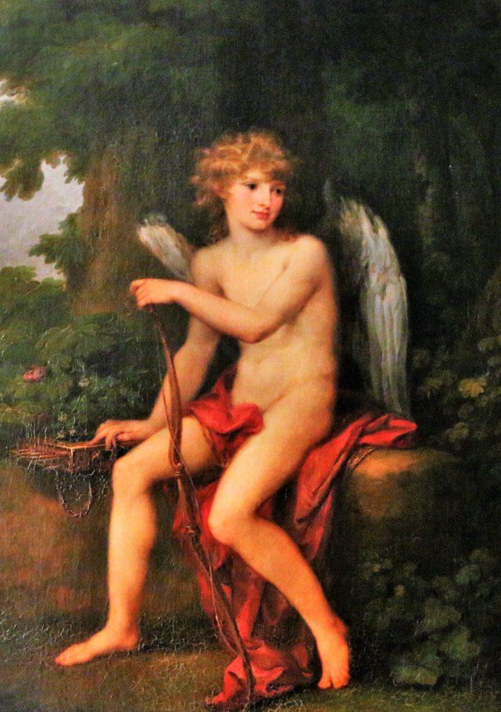 Lwów. Pałac Potockich. Lwowska Galeria Sztuki. Angelica Kauffmann. Portret Henryka Lubomirskiego jako Amora. Był ponoć tak pięknym dzieckiem, że Izabella z Czartoryskich Lubomirska odebrała go rodzicom i postanowiła go wychować jak własnego syna. Jeździła z nim po całej Europie, on zaś jako porażające urodą cudowne dziecko portretowany był przez najwybitniejszych artystów epoki. Pomimo tego woda sodowa nie uderzyła mu do głowy. Wyrósł na przyzwoitego człowieka, bardzo zasłużonego dla polskiej kultury, w tym także dla zbiorów lwowskiego Ossolineum. Fot. Jerzy S. Majewski