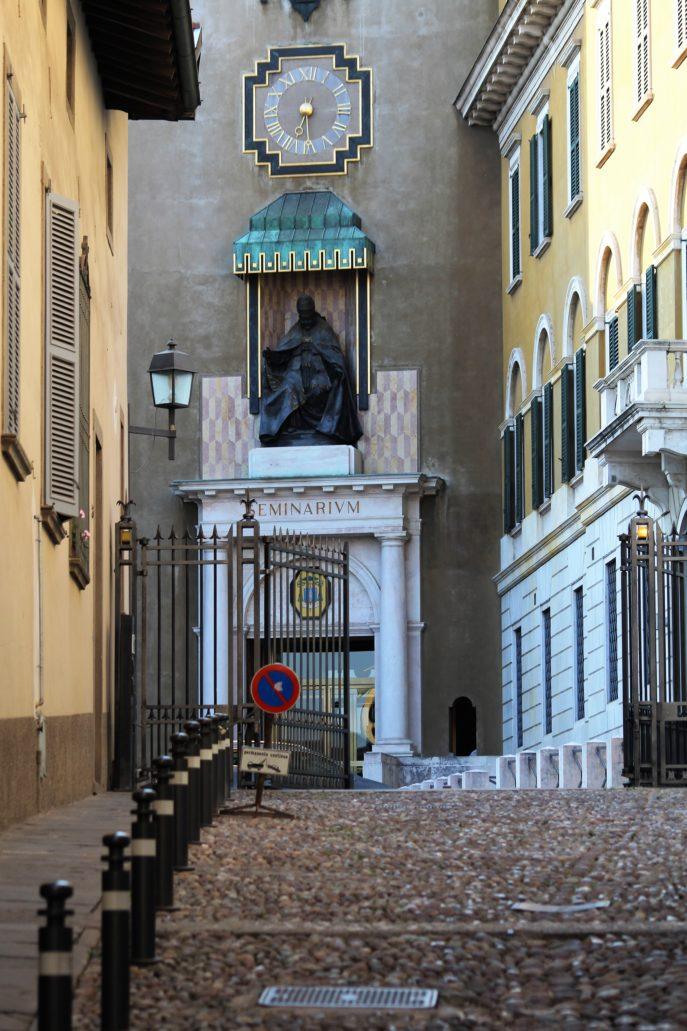 Bergamo. Citta Alta. Via Arena. Fot. Jerzy S. Majewski