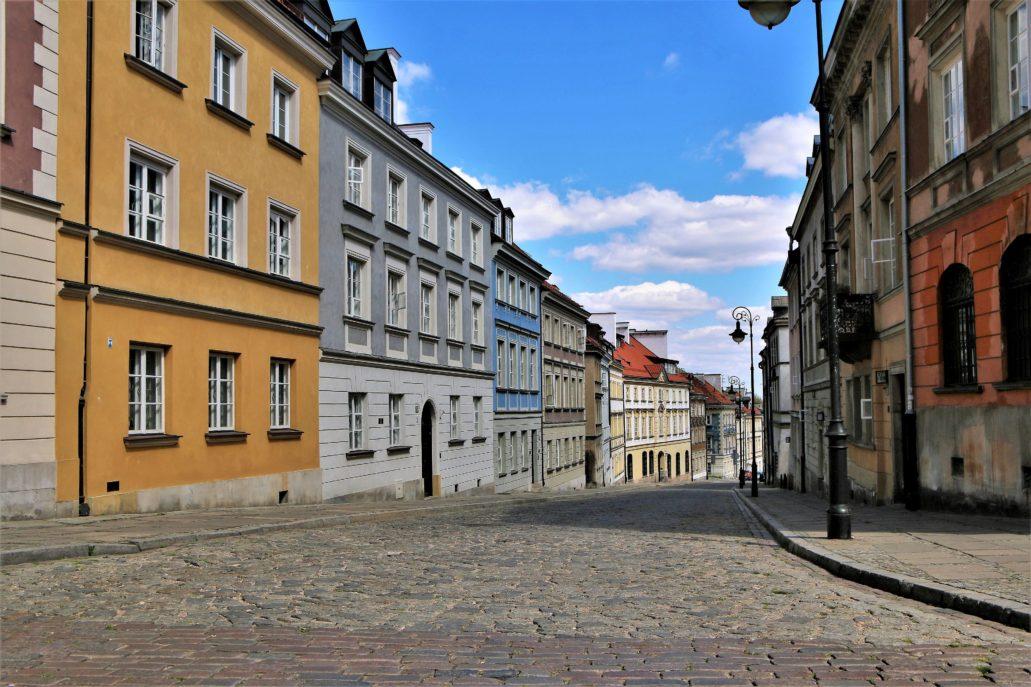 Warszawa. Koronawirus. Ulica Mostowa. Fot. Jerzy S. Majewski