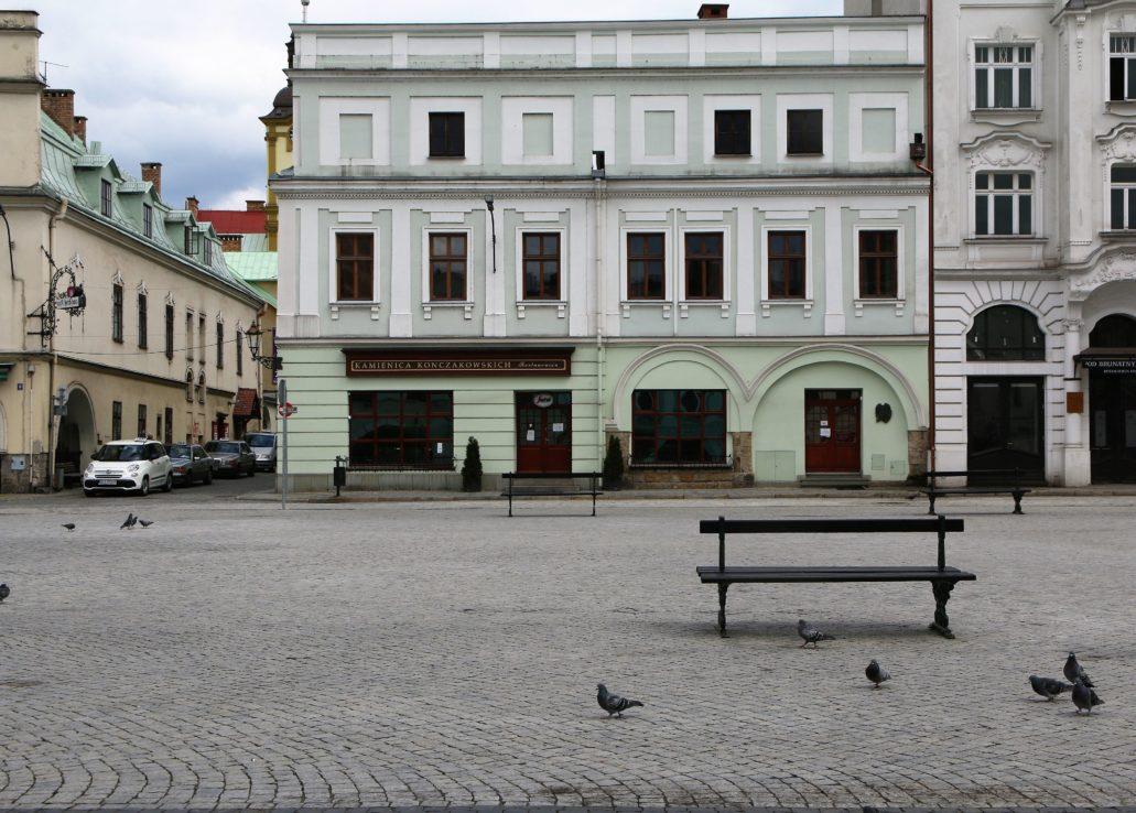 Cieszyn. Rynek 19. Kamienica Konczakowskich. W budynku tym zachowało się sporo detali architektonicznych z epoki renesansu. Fot. Jerzy S. Majewski