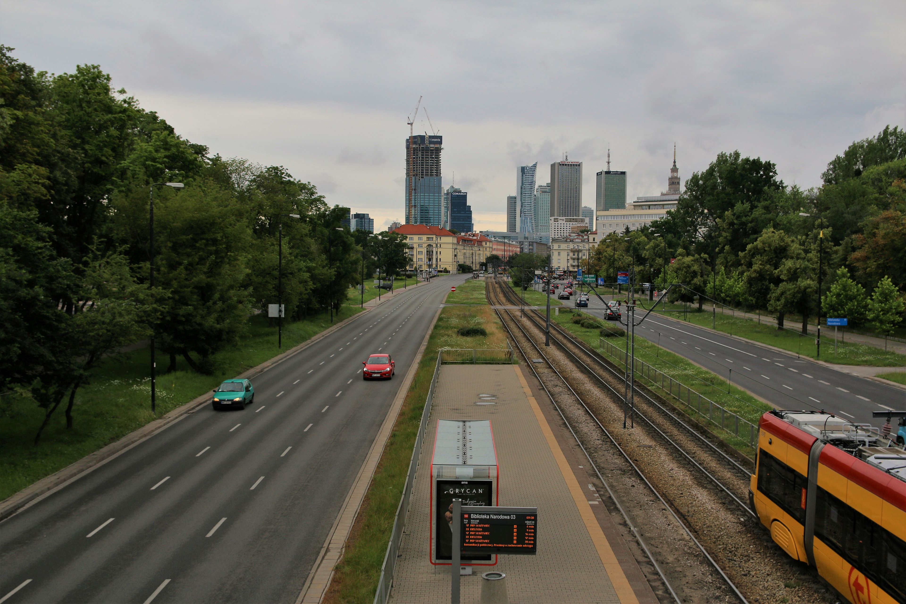 panorama centrum warszawy 00