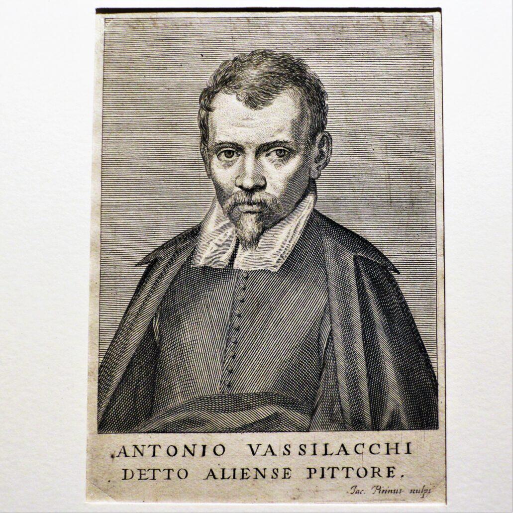Giacomo Piccini. Portret Antonia Vassilacchiego, mistrza i nauczyciela Dolabelli. 1648. Zamek Królewski w Warszawie