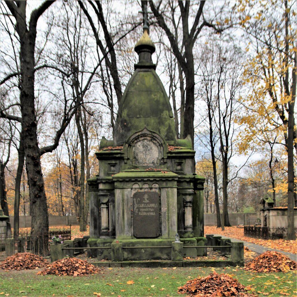 Warszawa. Cmentarz Prawosławny. Mauzoleum Szelechowa. Projekt Piotr Fedders. Fot. Jerzy S. Majewski