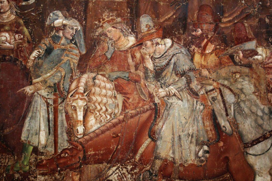 Piza. Campo Santo. Fragment malowidła Triumf Śmierci autorstwa Bonamico Buffalmacco. Fot. Jerzy S. Majewski