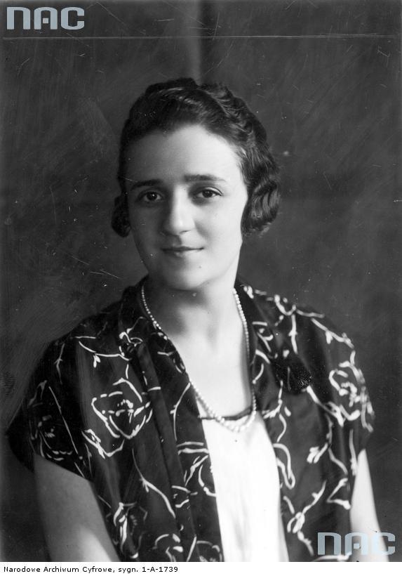 Prezydentowa Maria Mościcka. Fot. Narodowe Archiwum Cyfrowe