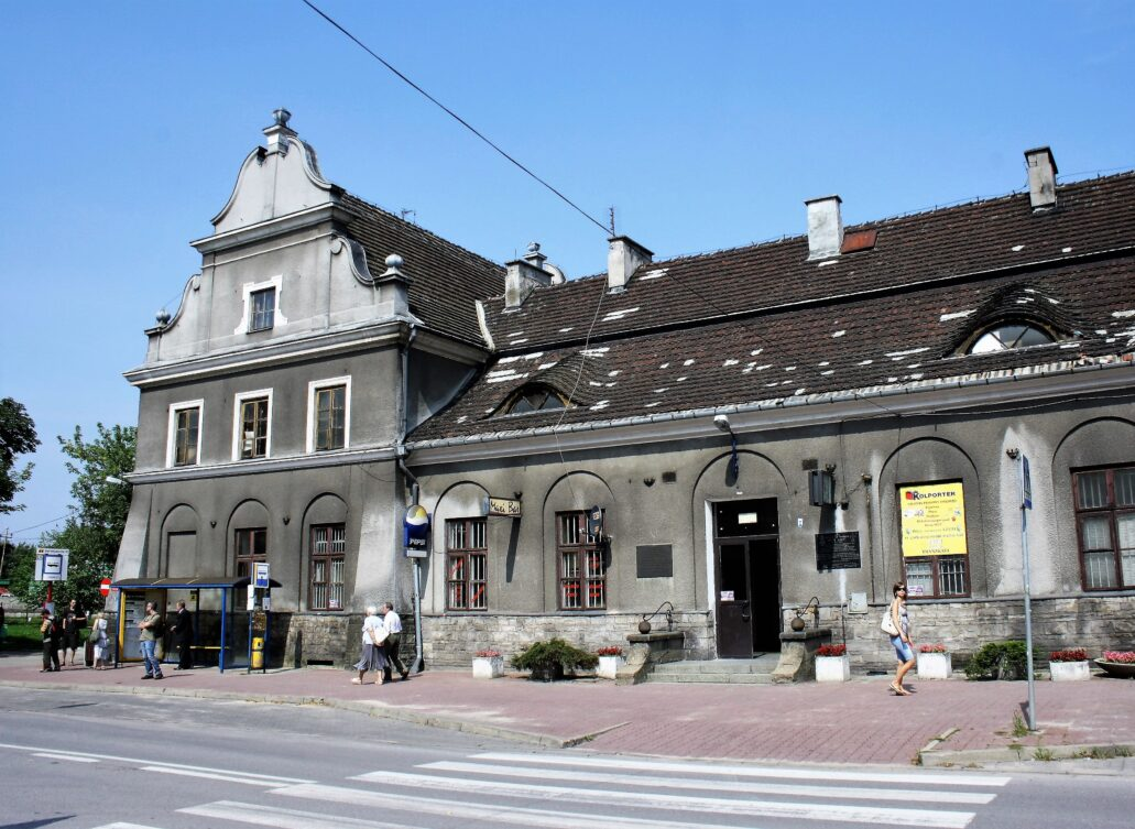 Pruszków. Fasada dworca kolejowego przed remontem w roku 2011. Fot. Jerzy S. Majewski