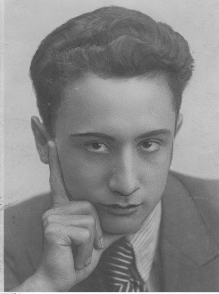 Władysław Szpilman. Narodowe Archiwum Cyfrowe