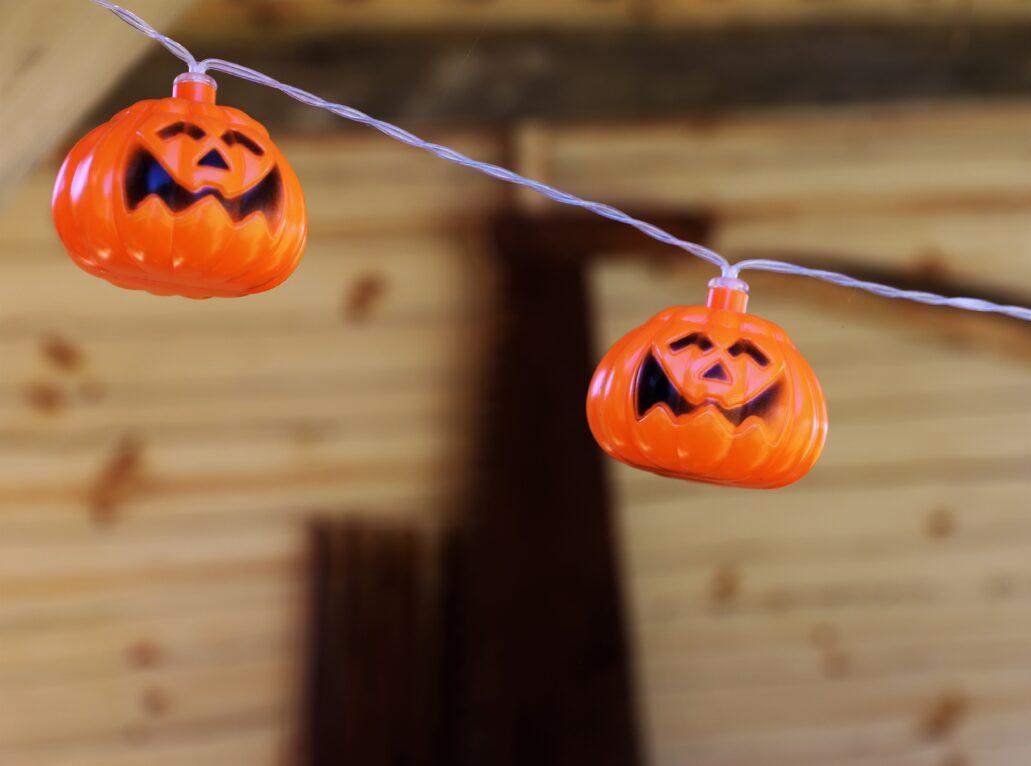 Błędowo koło Grudziądza. Kompozycja dożynkowa. Patrząc na te pomarańczowe dynie, można odnieść wrażenie, że kompozycja ma pozostać aktualna też w Halloween. Fot. Jerzy S. Majewski